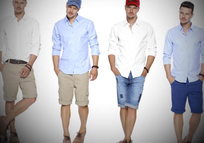 Camisa-bermuda